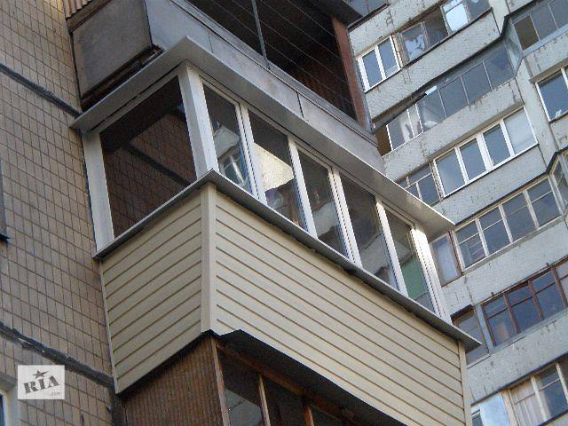 купить бу Балконы лоджии под ключ в Днепропетровской области