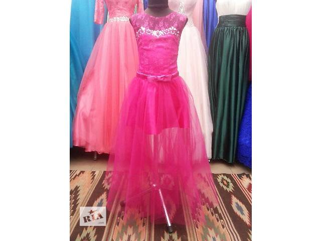бу Бальное платье 2 в одном,платье-трансформер,длинное платье,короткое платье,красивое платье,выпускное платье,платье. в Киеве