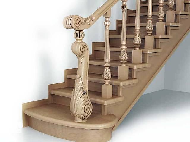 купить бу Балясины, заходные столбы деревянных лестниц в Белой Церкви