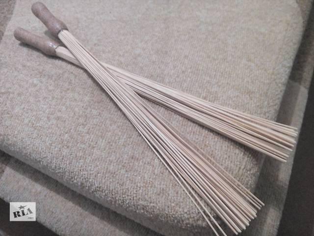 продам Бамбуковые массажные веники (розга-терапия) в бане сауне антицеллюлит бу в Запорожье