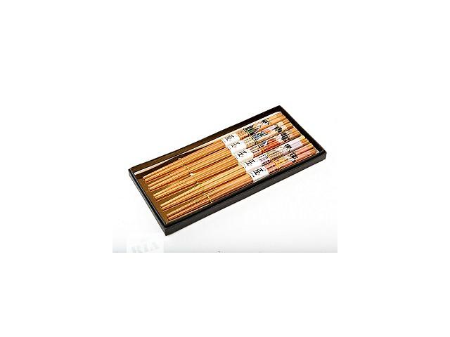 Бамбуковые палочки для суши 5 пар 22,5 см. новые- объявление о продаже  в Хмельнике (Винницкой обл.)