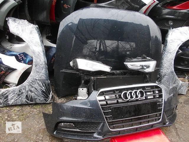 купить бу Бампер передний для легкового авто Audi A5  A5 S5 RS5 AUDI A5 S-LINE 08-15 морда комплектная запчасти в Львове