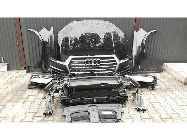 бу Бампер передний для легкового авто Audi Q7 09-15 Q7 4M, Q7 W12,Q7 S-LINE морда комплектная запчасти в Львове