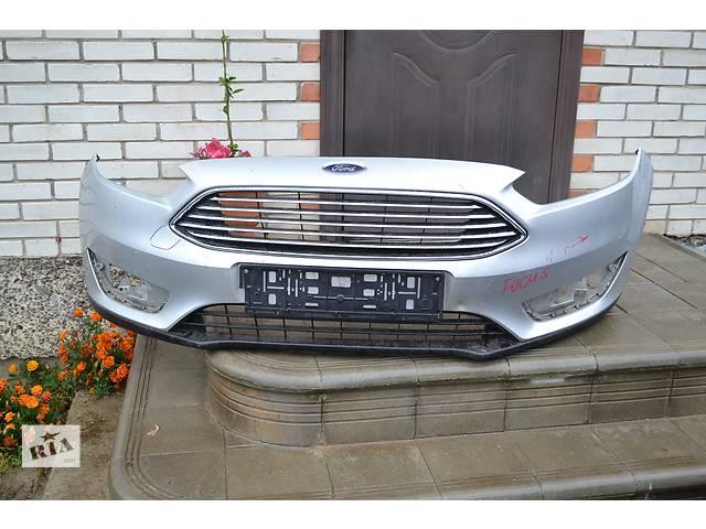 купить бу  Бампер передний для легкового авто Ford Focus с 2015 г. в. в Остроге