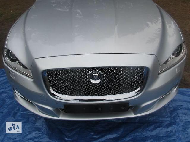 купить бу Бампер передний для легкового авто Jaguar XJ 2011 JAGUAR XJ X351 JAGUAR XJ X350 морда комплектная в Жовкве