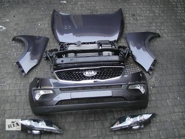 бу Бампер передний для легкового авто Kia Sportage 2015 Kia Sportage морда комплектная в Жовкве