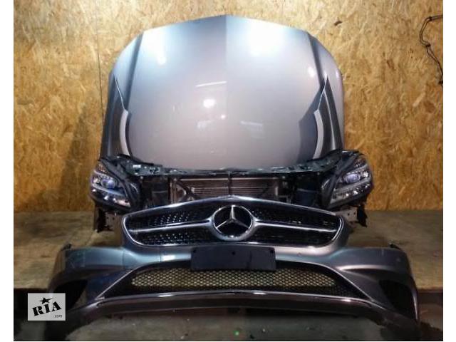 купить бу Бампер передний для легкового авто Mercedes CLS-Class W218 W219 06-15 морда комплектная запчасти в Львове