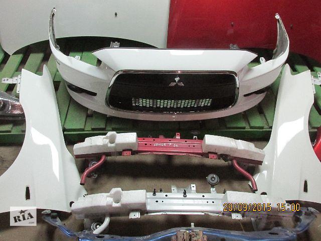 бу Бампер передний для легкового авто Mitsubishi Lancer X в Львове