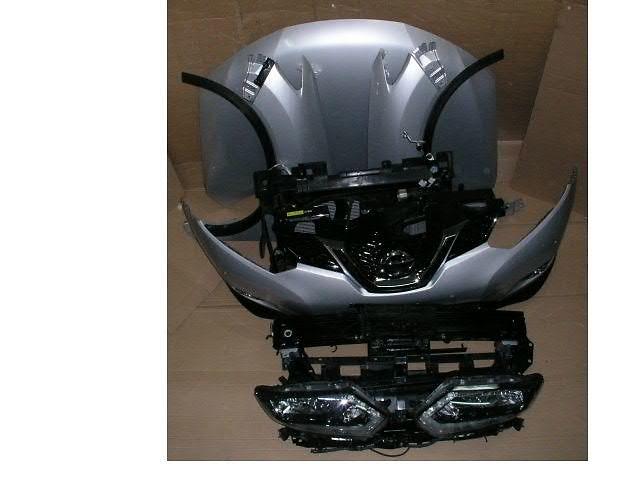 бу Бампер передний для легкового авто Nissan X-Trail NISSAN X-TRAIL  T32  T31 морда комплектная в Жовкве