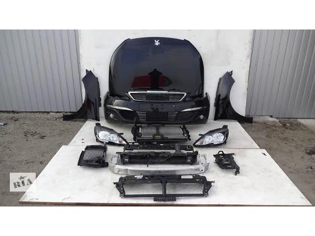 продам Бампер передний для легкового авто Peugeot 308 lift Peugeot 308 09-15 морда комплектная бу в Жовкве