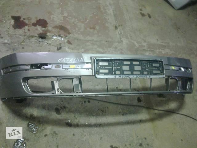 продам  Бампер передний для легкового авто Skoda Octavia A5 бу в Львове