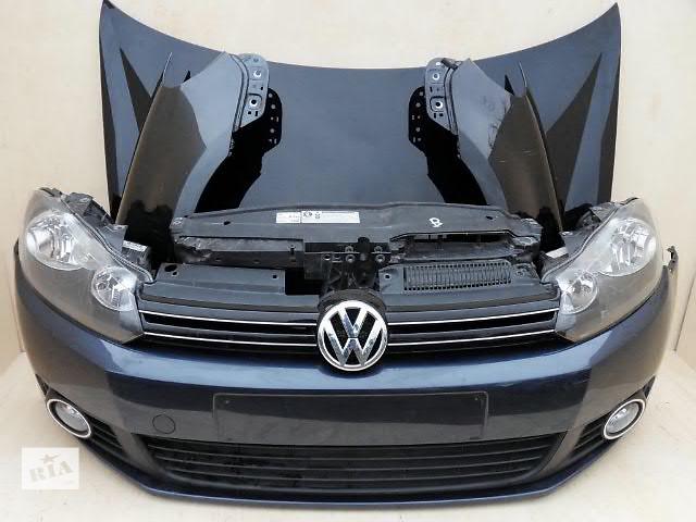 купить бу Бампер передний для легкового авто Volkswagen Golf VI Golf VI GTI  морда комплектная в Жовкве