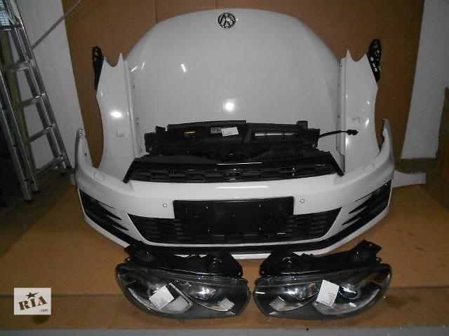 купить бу Бампер передний для легкового авто Volkswagen Scirocco  морда комплектная DSG в Жовкве