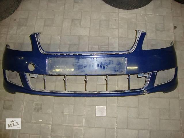 Бампер передний оригинал Шкода Фабия Skoda Fabia/ Roomster 5J0807221D- объявление о продаже  в Виннице