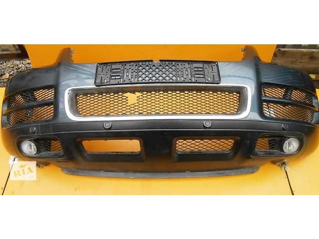 купить бу Бампер передний с парктроником Volkswagen Touareg Фольксваген Туарег 2003г-2009г в Ровно