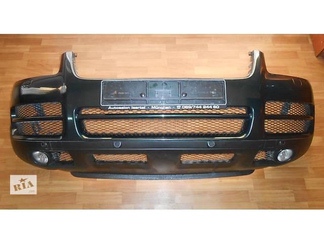 бу  Бампер передний Volkswagen Touareg Фольксваген Туарег 2003 - 2006г в Ровно