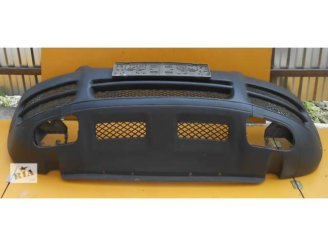 купить бу Бампер передний Volkswagen Touareg Туарег 2002 - 2006 Оригинал Паяный в Ровно