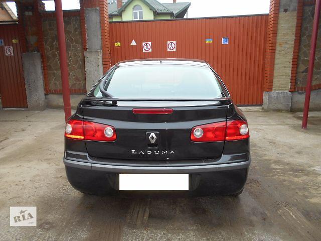 продам Бампер задний для хэтчбека Renault Laguna 2007 бу в Львове