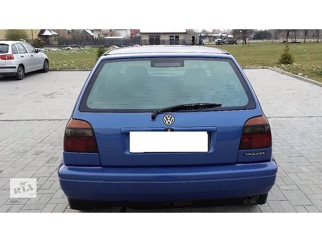 Бампер задний для хэтчбека Volkswagen Golf III- объявление о продаже  в Львове