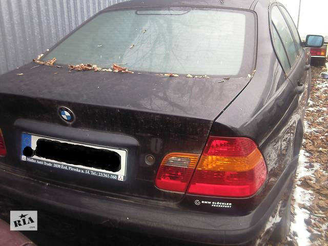 бу  Бампер задний для легкового авто BMW 320 в Ужгороде
