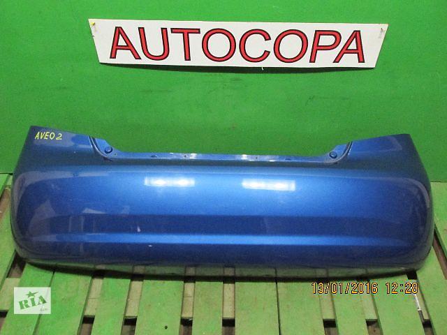 купить бу Бампер задний для легкового авто Chevrolet Aveo в Львове