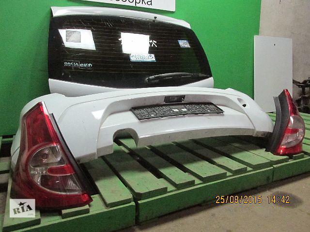 продам Бампер задний для легкового авто Renault Sandero бу в Львове