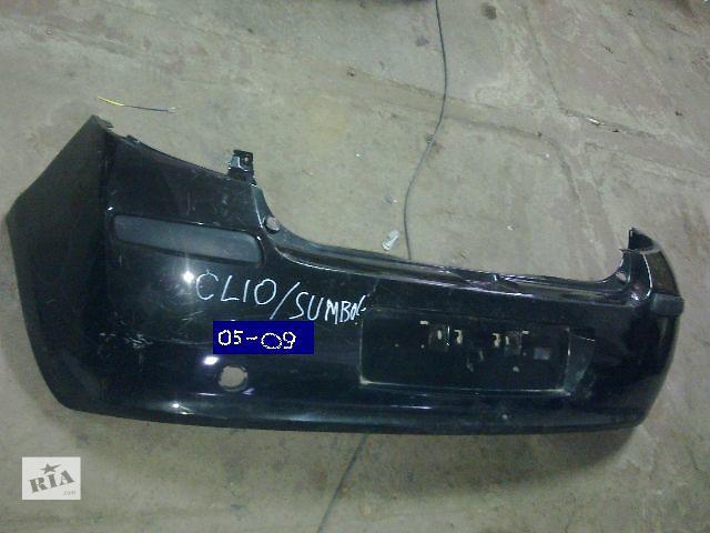 продам  Бампер задний для легкового авто Renault Symbol 05-09 бу в Львове