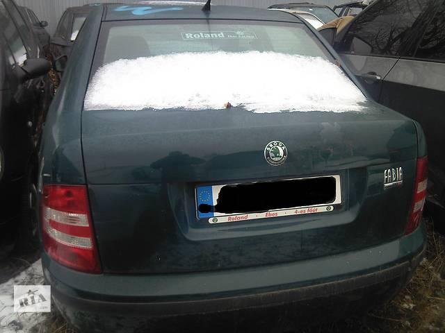 Бампер задний для легкового авто Skoda Fabia- объявление о продаже  в Ужгороде