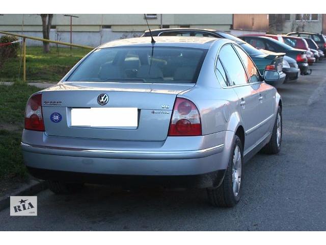 бу Бампер задний для седана Volkswagen B5 2001 в Львове