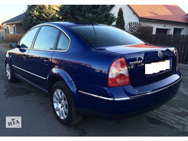продам бампер задний для седана Volkswagen B5, 2003 бу в Львове