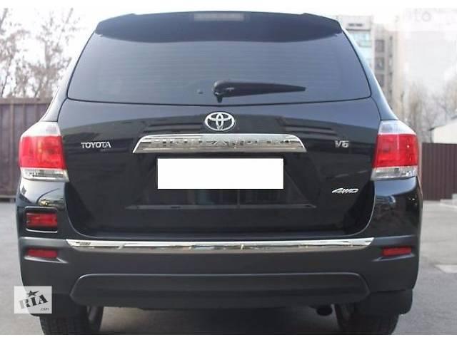 купить бу бампер задний для Toyota Highlander, 2012 в Львове