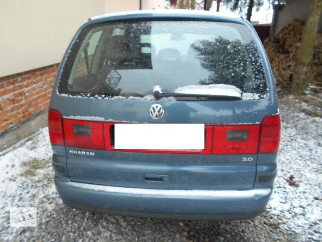 бу Бампер задний для Volkswagen Sharan 2002 в Львове