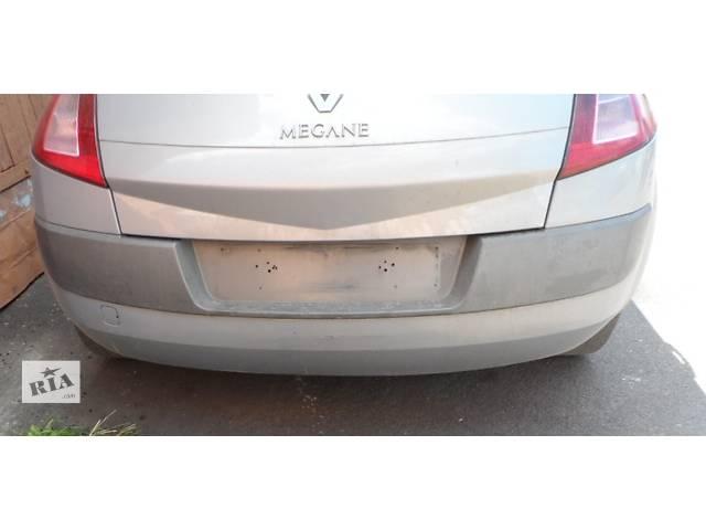 купить бу Бампер задний Рено Меган 2 Renault Megane 2002-2006( На кузов Хетчбек) в Ровно