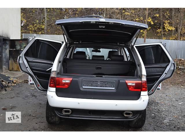 купить бу Бампер задний (в зборі з парктрониками) BMW X5 е53 БМВ Х5 в Ровно