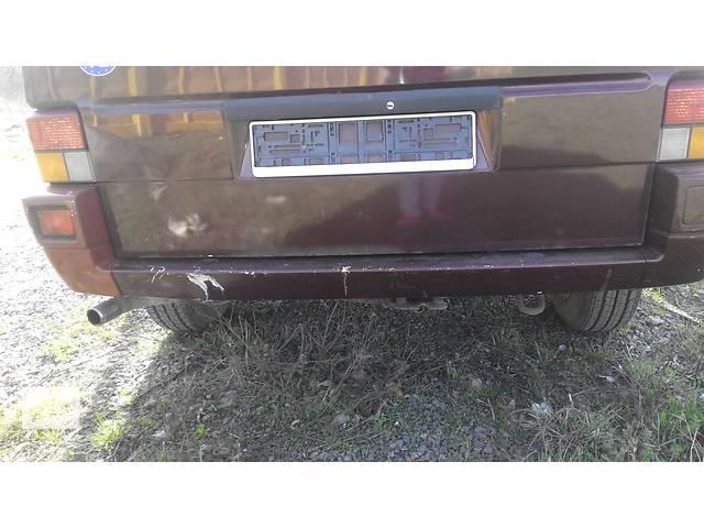 купить бу Бампер задний  Volkswagen Caravella Фольсваген Т4 (Транспортер, Каравелла) в Ровно