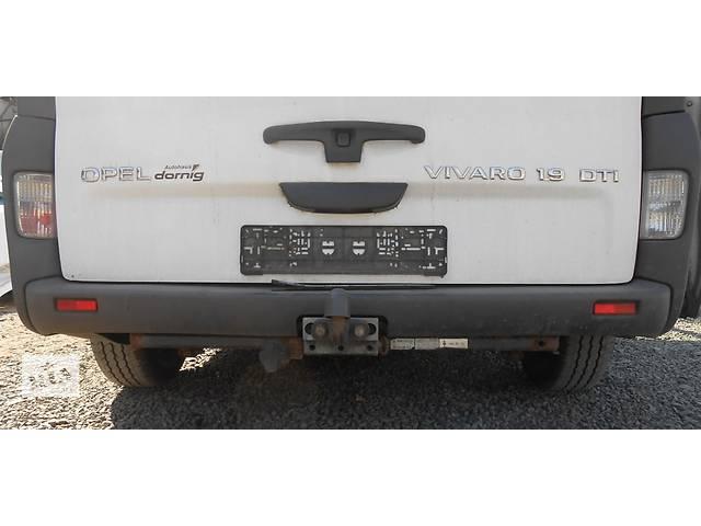 продам Бампер задний, задній Opel Vivaro Опель Виваро Renault Trafic Рено Трафик Nissan Primastar бу в Ровно