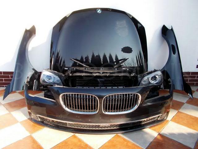 бу Бампер передний для легкового авто BMW 7 Series  BMW 7 F01 F02, BMW 7 E65 E66 морда запчасти в Жовкве