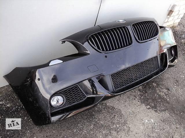 бу Бампер передний м-пакет BMW 5 F10 F11 оригинал м-стиль м-техник БМВ Ф10 Ф11 м-бампер М M м-обвес в Луцке