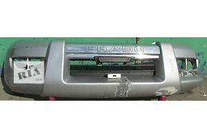 Бампер передний и задний Toyota Land Cruiser Prado 120 оригинал 52159-60200, 52119-60481 2005г