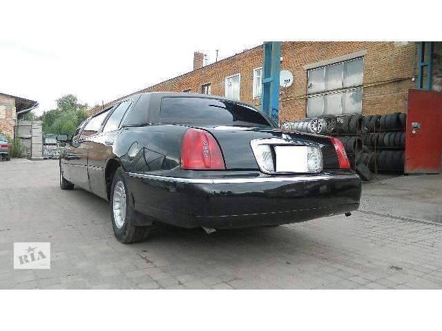 купить бу Бампер передний/задній Lincoln Town Car Лимузин 2001 в Львове
