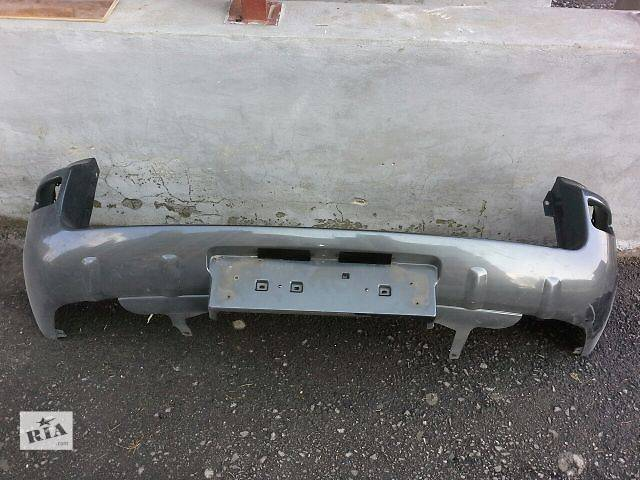 продам Б/у бампер задний для кроссовера Toyota Rav 4 Тойота Рав 4 бу в Ровно