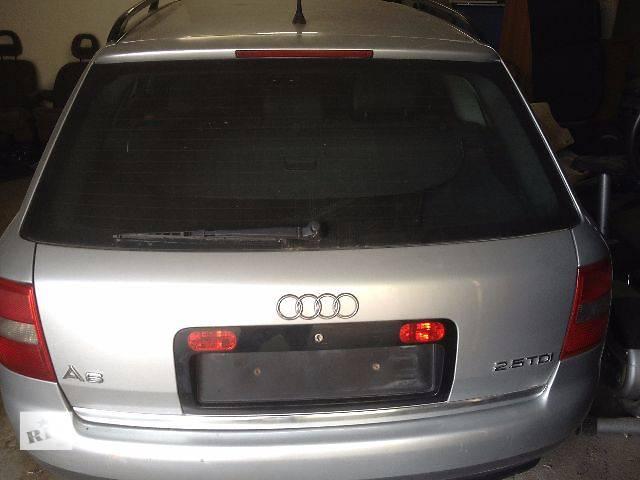 продам Бампер задний Крышка багажника Фонарь задний Усилитель бампера Кронштейн(Клыки)передние задние  Audi A6 С5  Рейстайлинг бу в Ивано-Франковске