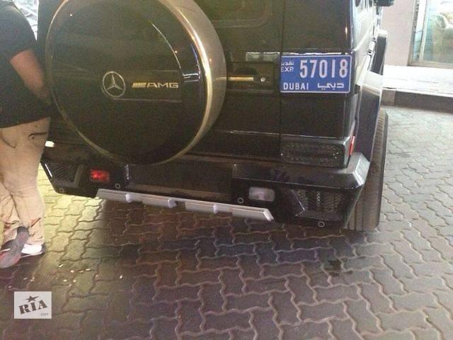 бу Бампер задний Mercedes G-class W463 в Луцке