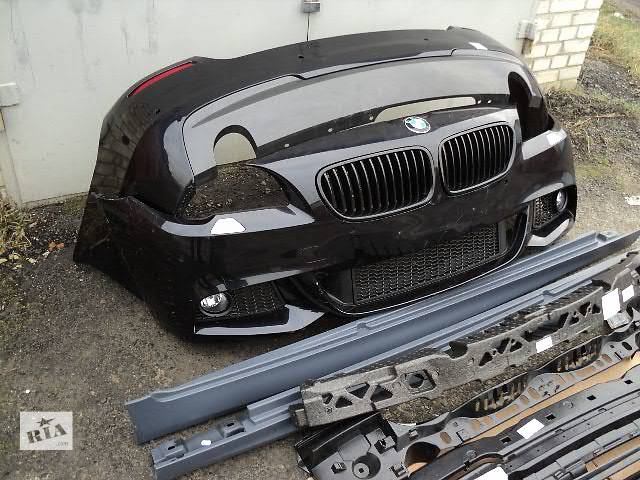 продам М-обвес ОРИГИНАЛ BMW 5 F10 бампер передний задний накладки на пороги м-пакет м-стиль м-техник М M Ф10 обвес м-бампер бу в Луцке