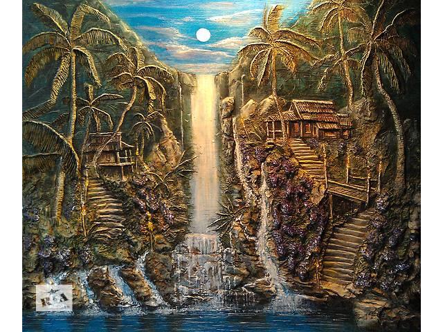 купить бу Барельеф и рельефное  панно, картины, рельефная роспись стен.  в Украине