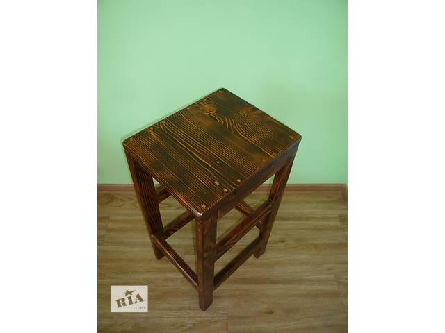 бу Барный стул из массива сосны под старину! в Хотине