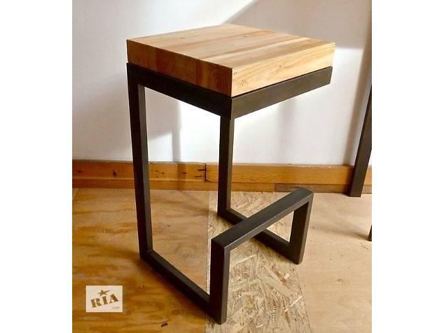 купить бу Барный стул, стол из дерева в Киеве