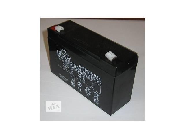 Батарея аккумуляторная Leoch DJW 6_ 12В_ 7Ач к ехолоту, детскому электромобилю.- объявление о продаже  в Киеве