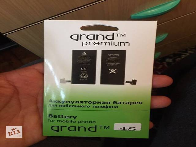 Батарея iPhone 4,4s,5,5s,6,6plus- объявление о продаже  в Виннице