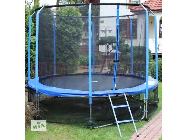 купить бу Батут 12FT + сетка + лестница + нижняя сетка 365 см в Львове